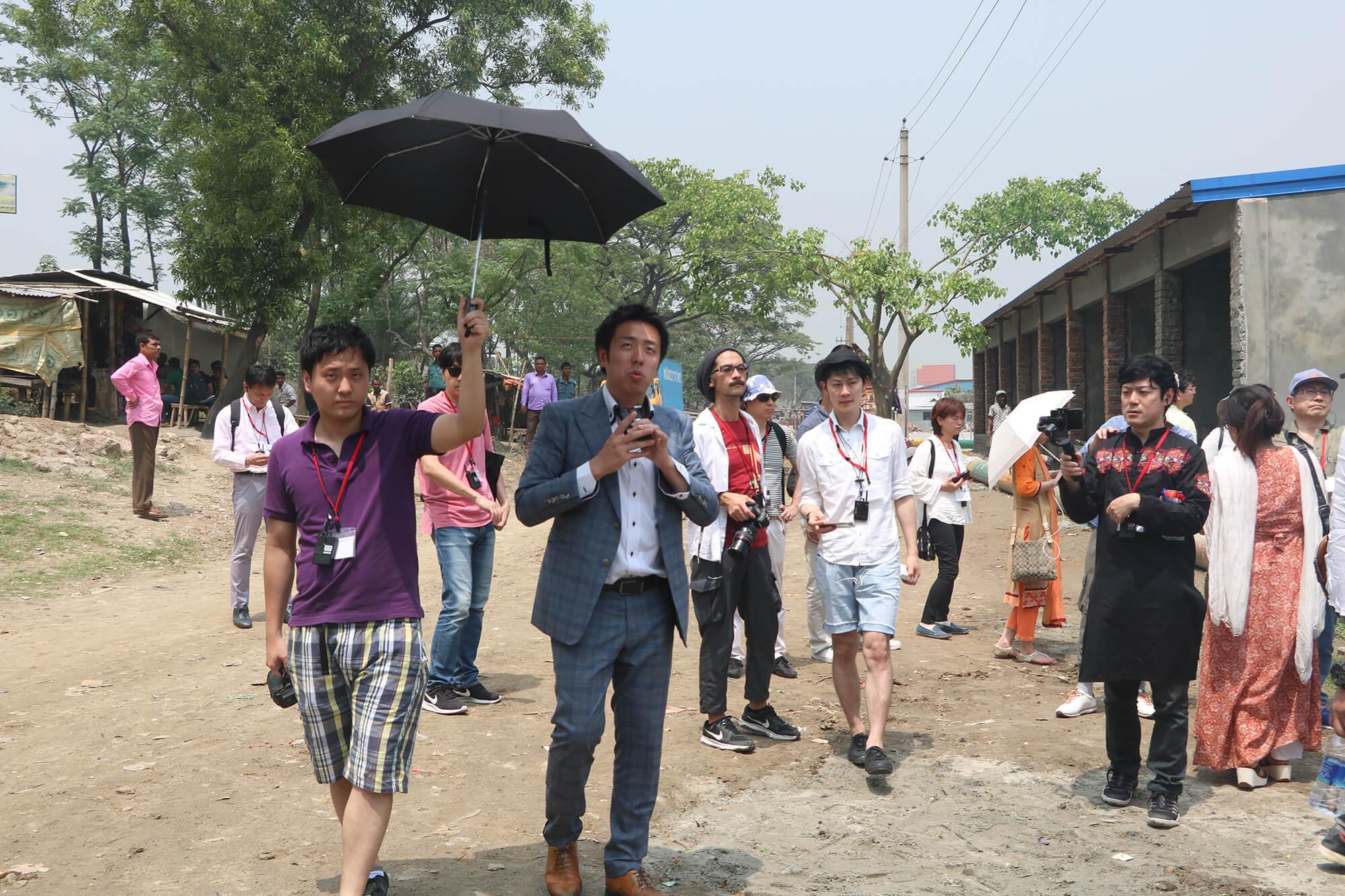 Japanese Team Visit